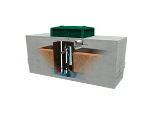 uv disinfection septic system rewatec