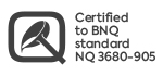 bnq 3680-905 certification logo