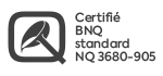 logo certification bnq 3680-905