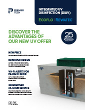 ecoflo rewatec integrated uv disinfection brochure thumbnail