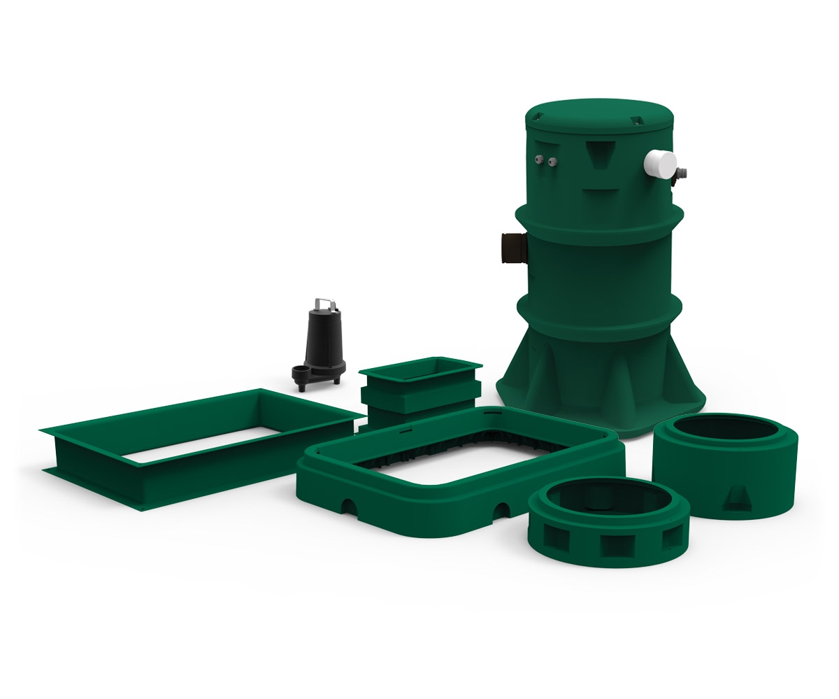 Peripherals and accessories septic system header