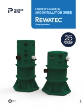 rewatec pumping stations owner's manual thumbnail