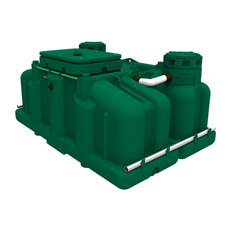 ecoflo pack all in one green septic system with septic tank and biofilter